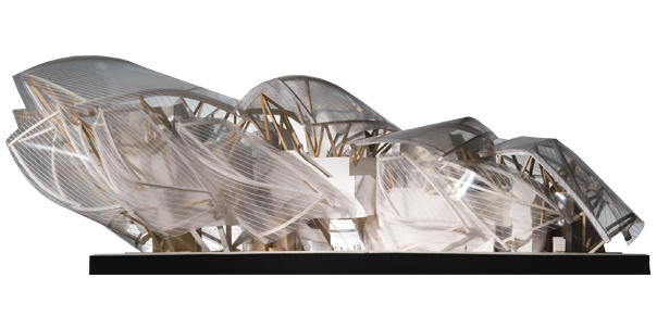 Tekla Structures Open API and Fondation Louis Vuitton by Frank Gehry