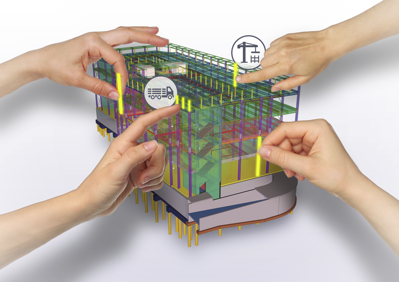 Tekla Model Sharing in coding projects helps you supporting your customer.