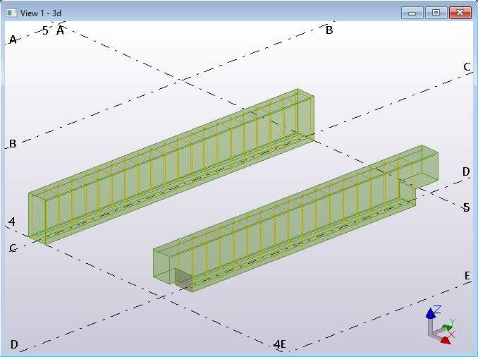 Tekla Structures Open API code example create single rebars and stirrups system connections