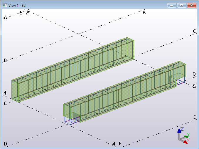 Tekla Structures Open API code example create single rebars and stirrups