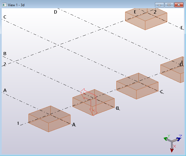 Tekla structures Open API code example manage work planes part