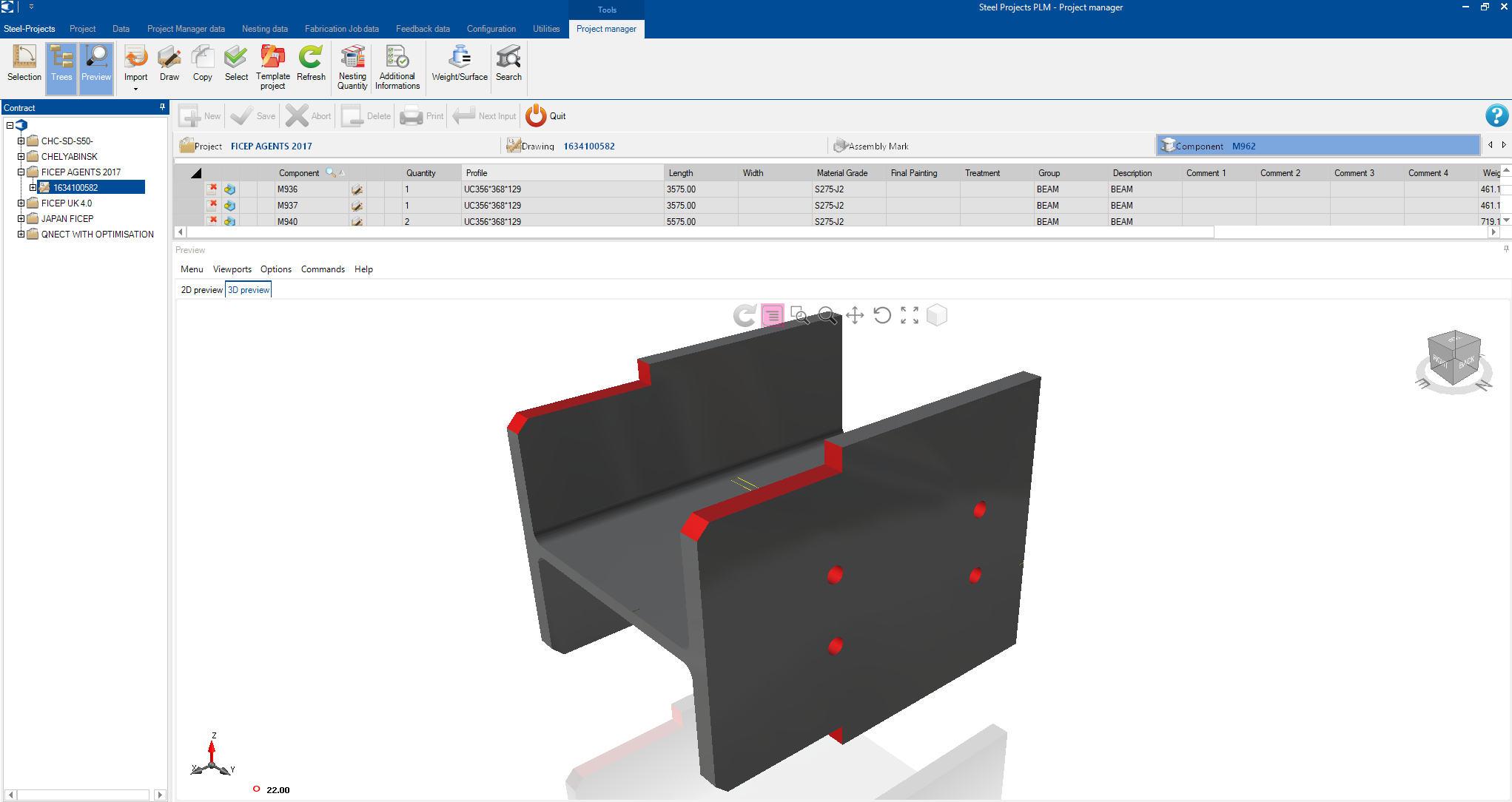 Steel Projects PLM and Tekla EPM to work as one thanks to Tekla EPM Open API