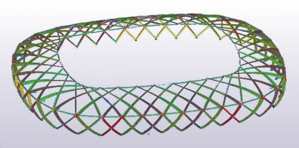 Using Tekla Structures Open API in the Arena Amazônia increased productivity by 20%
