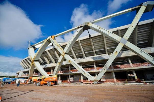 Tekla Structures Open API used in Arena Amazonia project