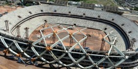 Arena Amazonia: effiency gain using Tekla Open API