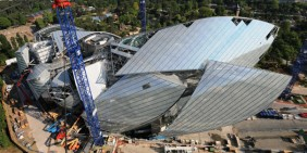 Tekla Structures Open API and Fondation Louis Vuitton by Frank Gehry, aluminium cladding panels