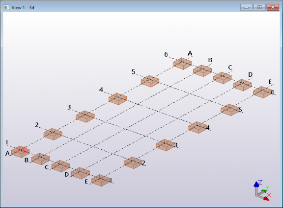 Tekla structures Open API model create pad footings