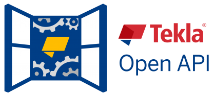 Get started with Tekla Open API