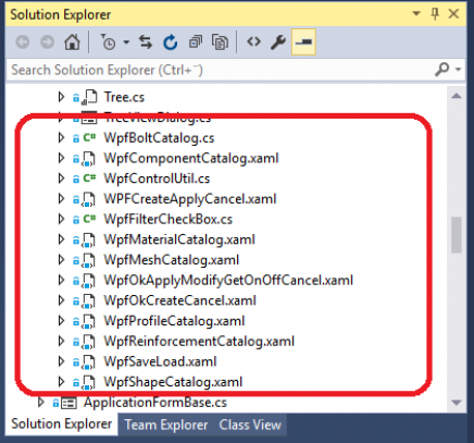 Tekla Open API UI design with WPF | Tekla Developer Center