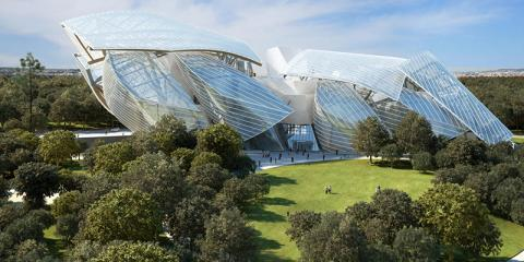Tekla Open API and Fondation Louis Vuitton Paris by Frank Gehry