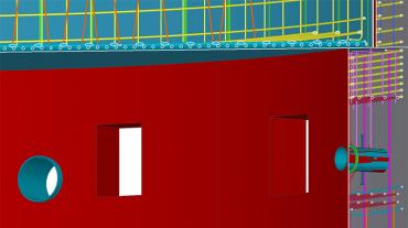 Tekla Structures Open API is used by Barton Malow to customize Tekla for their own needs