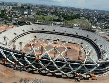 Tekla Structures Open API and Arena Amazônia